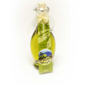 Olijfolie (extra vierge) met wilde salie en limoen | 250 ml