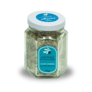 Zuiver zeezout met wilde kruiden  |  90 gram