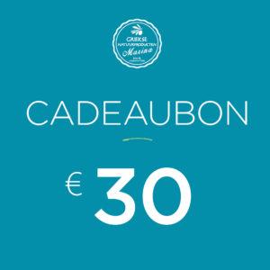 Cadeaubon Griekse natuurproducten | 30 €