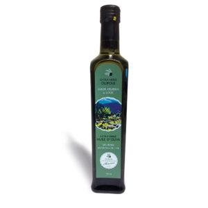 Olijfolie (extra vierge) met wilde kruiden en look | 500 ml