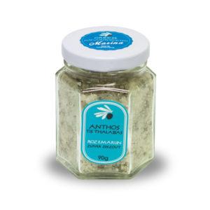 Zuiver zeezout met wilde rozemarijn | 90 gram
